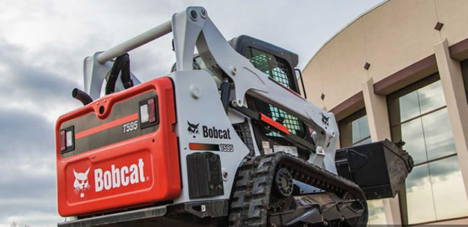 The T595 Compact Loader from Bobcat